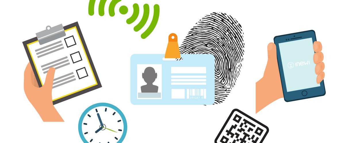 istnieje kilka sposobów na potwierdzanie obecności w pracy: lista obecności, karty magnetyczne, systemy biometryczne, aplikacje mobilne