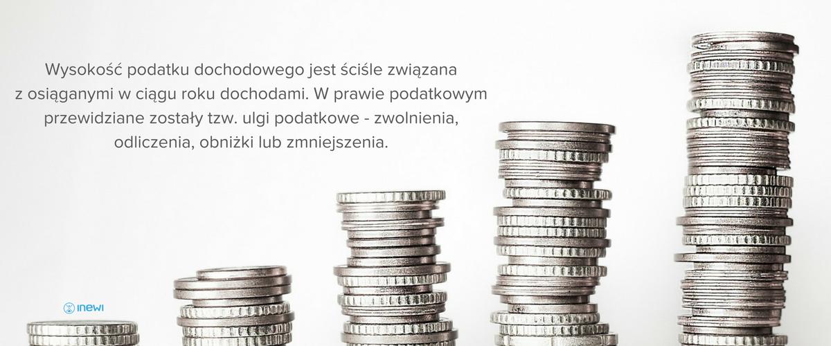 Wysokość podatku dochodowego jest ściśle związana z osiąganymi w ciągu roku dochodami