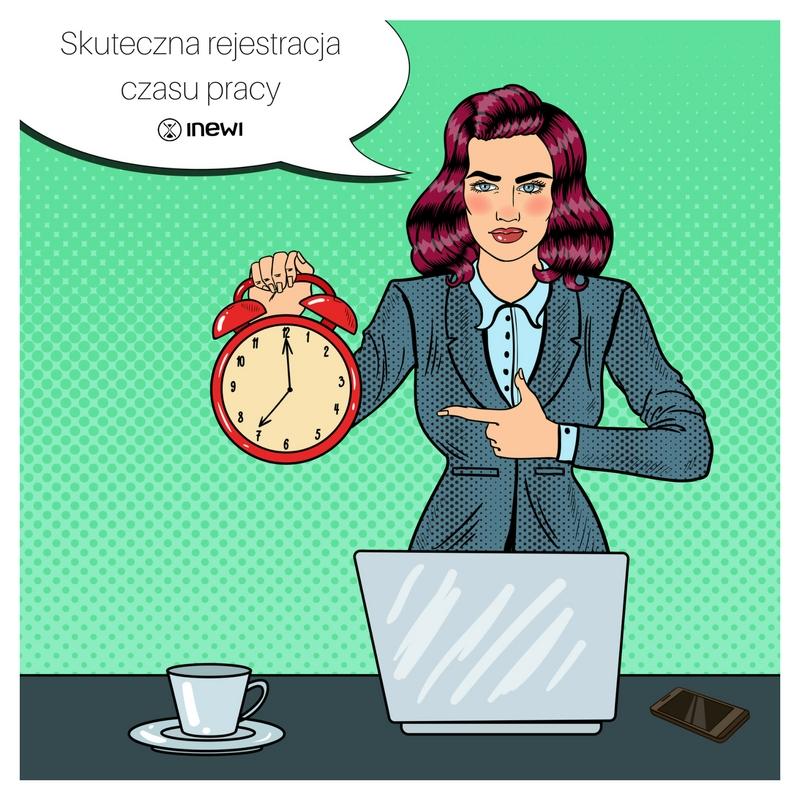 skuteczna rejestracja czasu pracy i aplikacja mobilna do zarządzania czasem pracy inewi