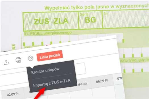 Automatyczne pobieranie informacji o L4 do inewi.pl dzięki integracji z e-ZLA!